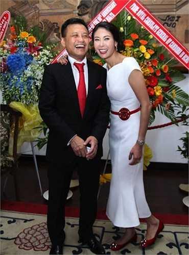 Ông xã của cô là Huỳnh Trung Nam, một nhân vật có tiếng trong lĩnh vực bất động sản thương mại ở Vũng Tàu và TP.HCM.