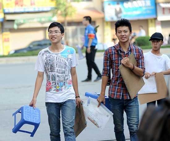 Đây là một trong số ít những trường tổ chức thêm môn thi riêng trong Kỳ thi THPT Quốc gia 2015.