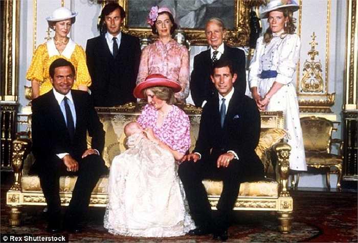 Lễ rửa tội cho Hoàng tử William, con trai của Công nương Diana và Thái tử Charles