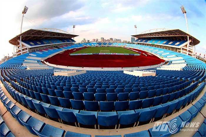 'Trận đấu Việt Nam - Man City là trận thi đấu bóng đá thương mại do VFF và SHB đứng ra tổ chức... (Ảnh: Quang Minh)