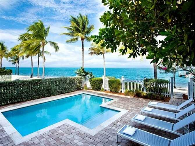 8. Sunset Key Guest Cottages, A Westin Resort, Key West, Florida (Mỹ): Khu nghỉ mát này nằm trên một hòn đảo tư nhân nhỏ, là nơi nghỉ dưỡng yên tĩnh, thư thái.