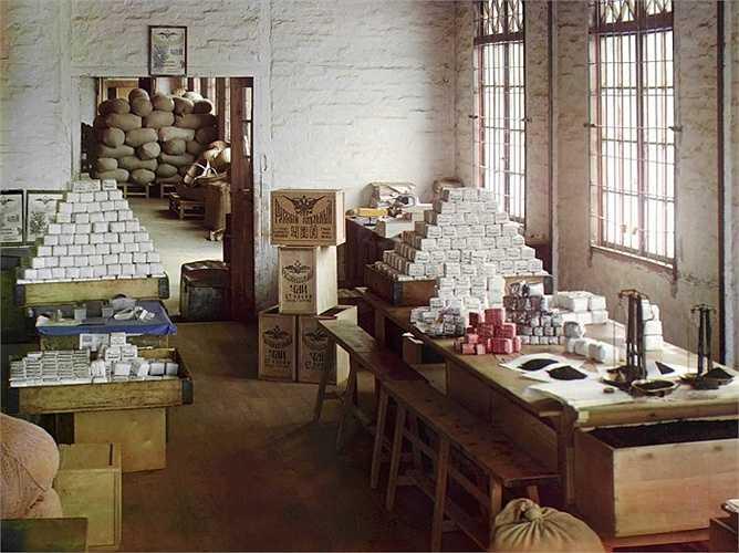 Nhà máy chế biến chè Chakva, gần bờ Biển Đen, (gần Batumi của Georgia), là một trong những nhà cung cấp chè lớn cho Đế quốc Nga thời đó