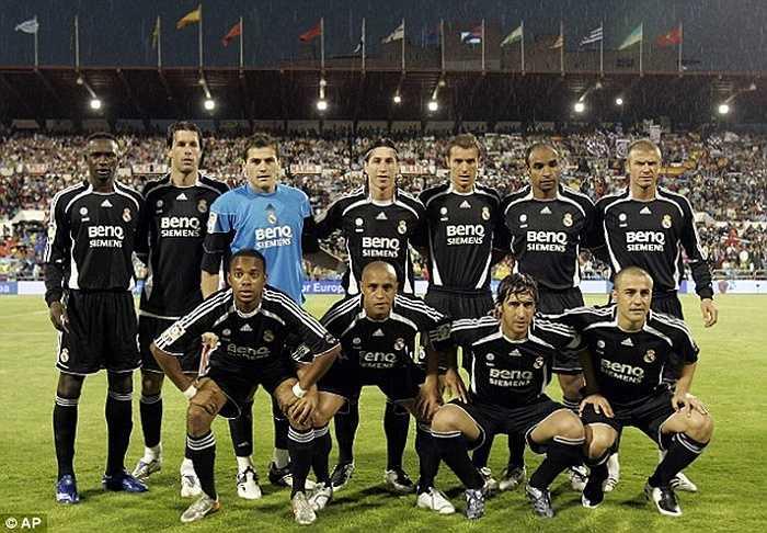 Casillas cũng là nhân chứng duy nhất qua 2 thế hệ Galacticos của Real Madrid