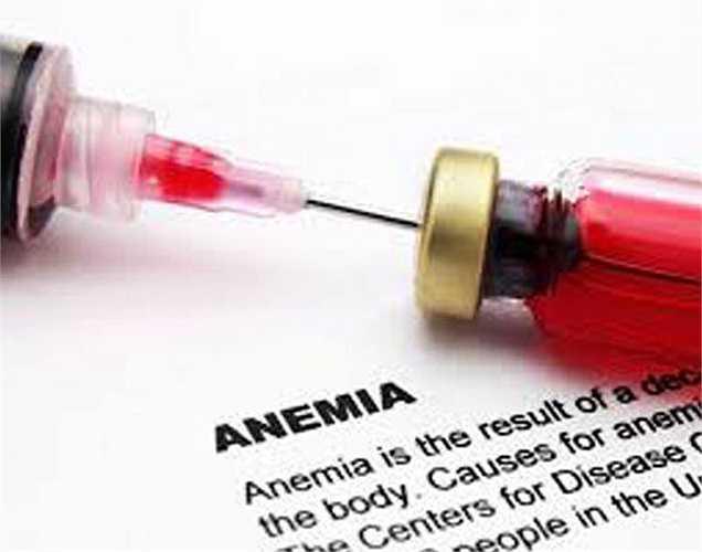 Chứa acid folic và sắt: Khoai lang cũng ngăn ngừa và điều trị thiếu máu vì chúng rất giàu sắt và acid folic. Chúng làm tăng mức độ hemoglobin trong các tế bào máu và cũng điều trị thiếu máu do thiếu acid folic.