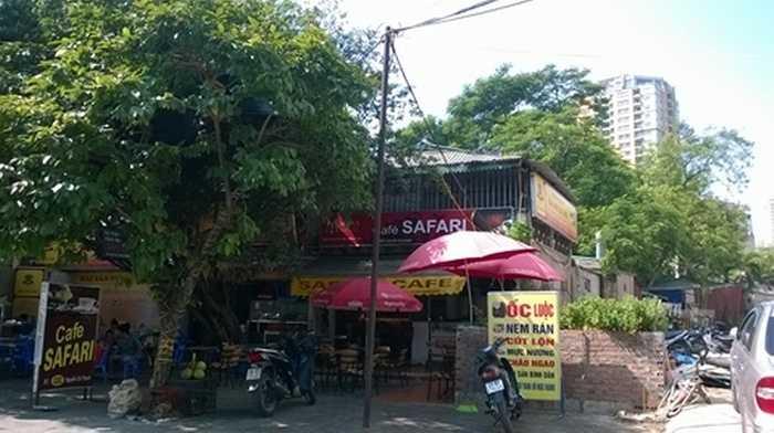Và những quán bia, nhà hàng lại tiếp tục mọc lên trong khu đất này