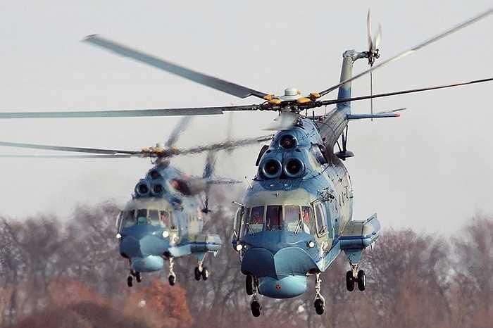 Xem thêm ảnh trực thăng lưỡng cư Mi-14 của Nga