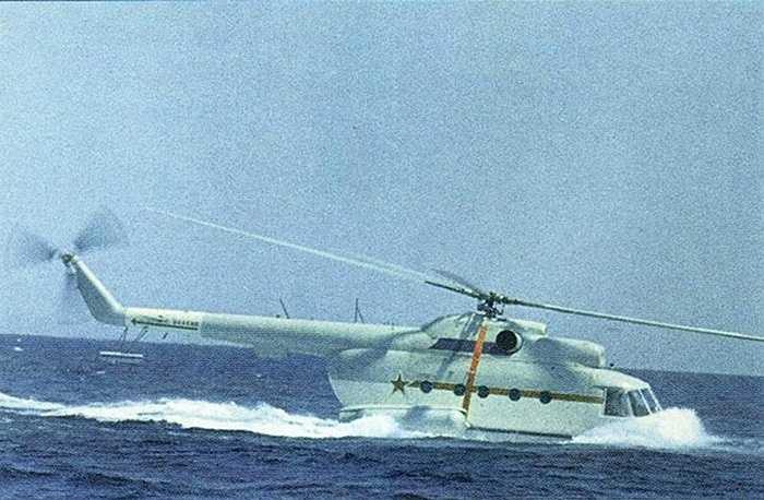 Các phi công rất thích trực thăng lưỡng cư này vì cabin rộng và độ rung ít