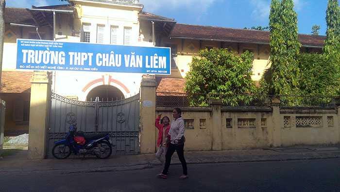 THPT Châu Văn Liêm (Cần Thơ) đã xuống cấp nghiêm trọng