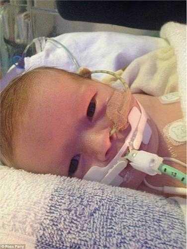 Ami, mẹ em bé đau khổ: 'Tôi có thể xé tim mình ra nếu điều đó cứu sống con gái tôi, nhưng chẳng gì có thể thay đổi số phận của Minnie'.