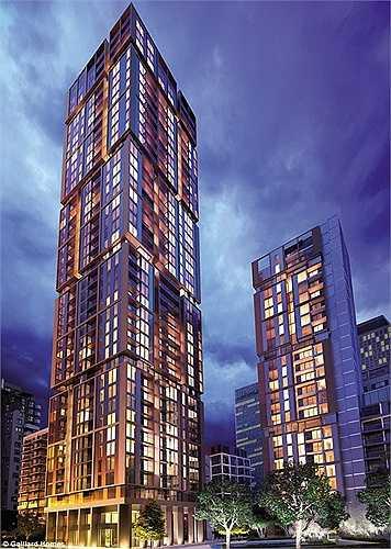 Mới đây, khu căn hộ Maine Tower tại Canary Wharf (London) được mở bán đã nhanh chóng hết hàng. Khu nhà này có 230 căn hộ