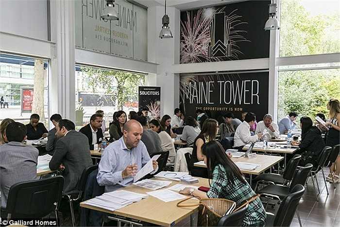 Canary Wharf là nơi được dự đoán sẽ phát triển mạnh trong thời gian tới. Ở đây có đường sắt chạy qua, có trụ sở ngân hàng lớn nhất nước Anh