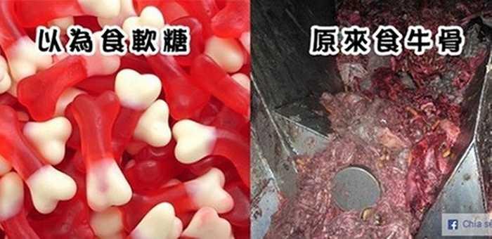 Thông thường nguyên liệu chính để làm những viên kẹo dẻo, chip chip là mạch nha, tinh bột, các chất tạo màu, tạo hương và đặc biệt là không thể thiếu gelatin.