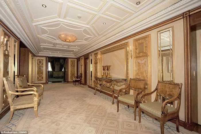 Góc hành lang, nơi chờ đợi của khách