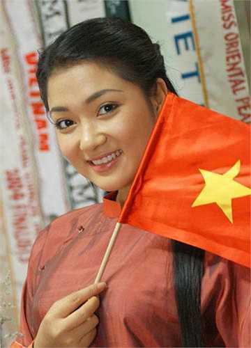 Sau khi đăng quang Hoa hậu, cô đại diện cho Việt Nam tham dự cuộc thi Hoa hậu Thế giới (Miss World) tại Trung Quốc.