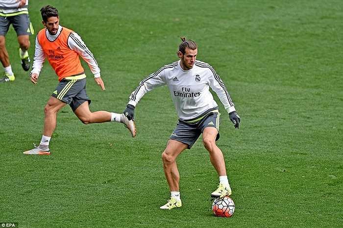 Một ngôi sao khác cũng được quan tâm là Gareth Bale - người được cho là sẽ trở thành nhân vật chính trong lối chơi của Rafa Benitez