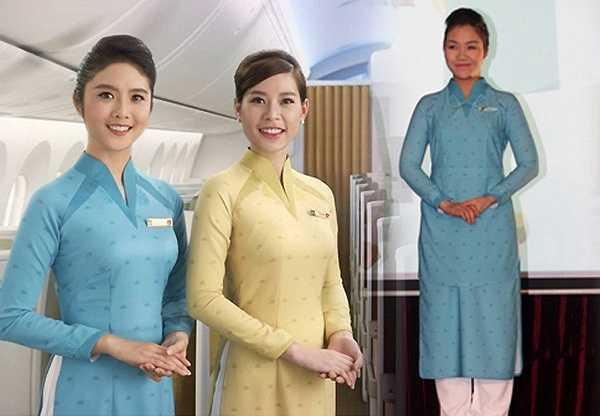 Tháng 3.2015 vừa qua, đồng phục áo dài mới của tiếp viên hàng không Vietnam Airlines cũng trở thành đề tài bàn tán. Qua một số bức ảnh rò rỉ trên mạng, nhiều người cho rằng trang phục này không hề đẹp.