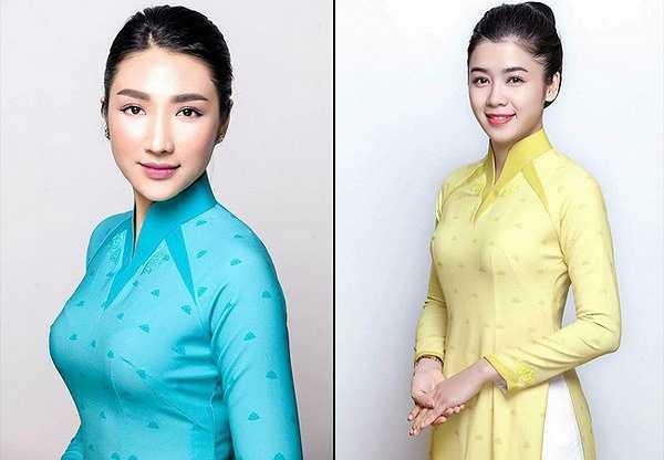 Tuy nhiên, đầu tháng 7 vừa qua, khi đồng phục mới của hãng được chính thức đưa vào sử dụng, những chiếc áo dài tông vàng, xanh tươi tắn này đã nhận được nhiều lời khen ngợi.