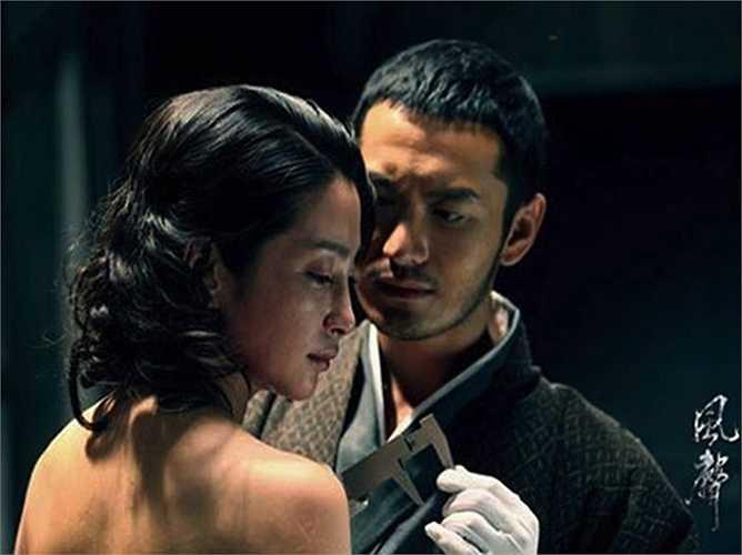 Màn tra tấn dã man của thủ lĩnh quân Nhật (Huỳnh Hiểu Minh thủ vai) với nữ gián điệp Lý Ninh Ngọc (Lý Băng Băng đóng) trong phim điện ảnh Phong Thanh để lại nhiều ám ảnh cho cả hai diễn viên chính.