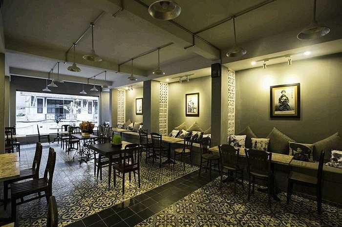 Không gian sang trọng, cách bài trí ấm cúng là đặc điểm trong nhà hàng của Mai Phương Thúy.