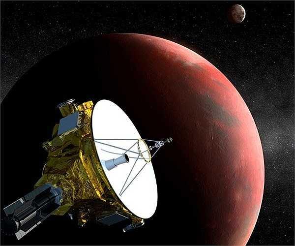 Sao Diêm vương (Pluto) được khám phá vào năm 1930, đây là hành tinh bé nhất thuộc hệ mặt trời