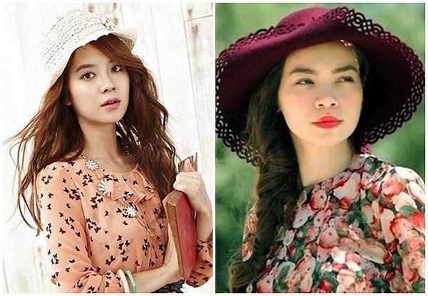 Nếu Hồ Ngọc Hà sở hữu lượng fan hùng hậu tại Việt Nam thì Song Ji Hyo cũng có cả một cộng đồng người hâm mộ thuộc hàng khủng ở Kbiz