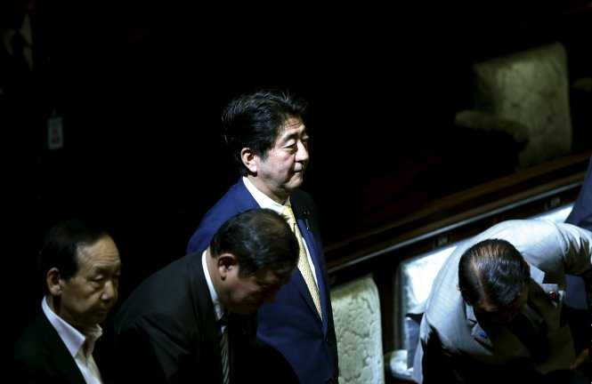 Thủ tướng Shinzo Abe khẳng định tình hình an ninh ở châu Á, do đó Nhật cần chính sách an ninh mới