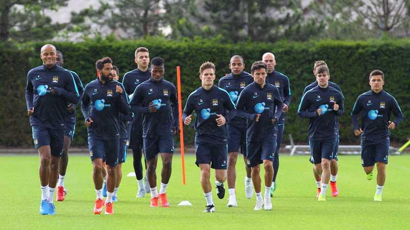 Man City tập luyện tại Úc