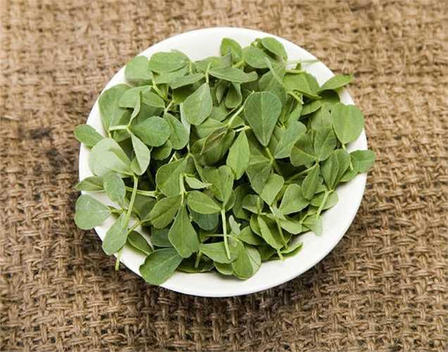 Lá cỏ cà ri để chữa bệnh loét dạ dày:  Đun sôi một cốc lá cỏ cà ri trong nước, thêm một chút muối vào nước. Nhâm nhi nước này hai lần trong ngày khi ấm để chữa bệnh dạ dày.