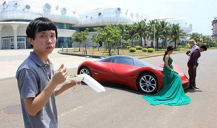 Tác giả là Chen Yinxi, một thanh niên 27 tuổi, có đam mê to lớn với nghề thiết kế ô tô