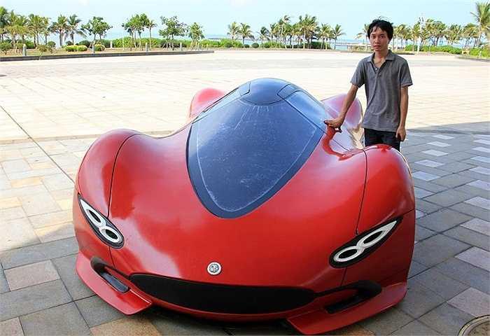 Chiếc xe khi xuất hiện ở triển lãm ô tô ngay lập tức đã gây sự chú ý đặc biệt