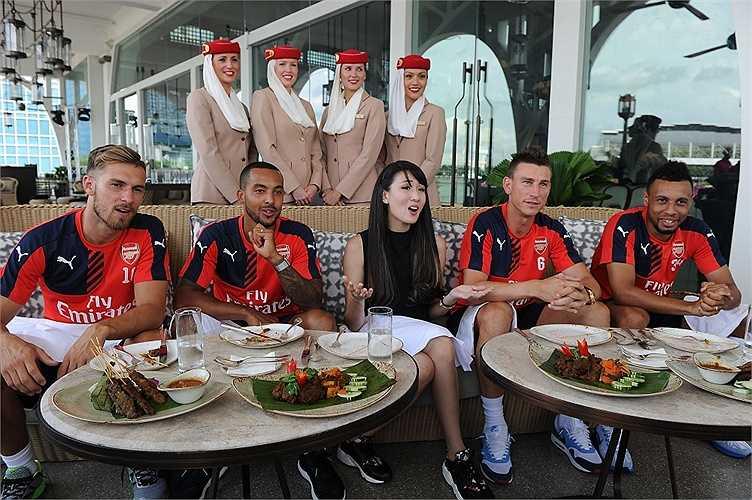 Fly Emirates đồng hành cùng Arsenal