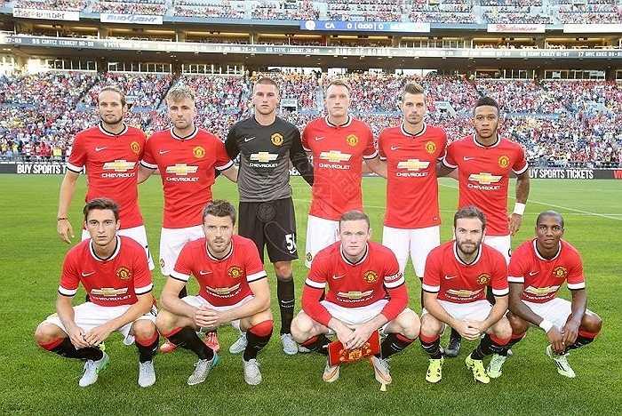 Manchester United có trận đấu đầu tiên của mùa giải mới. Họ gặp Club America trên đất Mỹ.