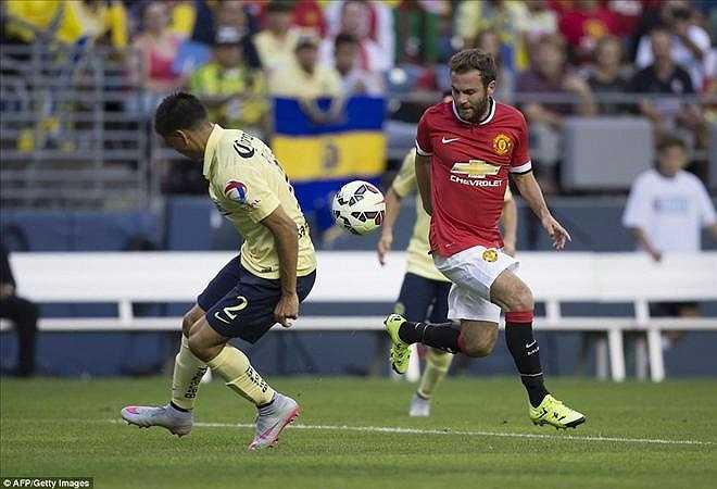 Mata là người kiến tạo bàn thắng duy nhất cho Man Utd.