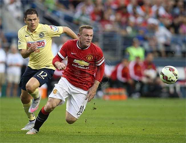 Rooney là người lĩnh xướng hàng công Man Utd
