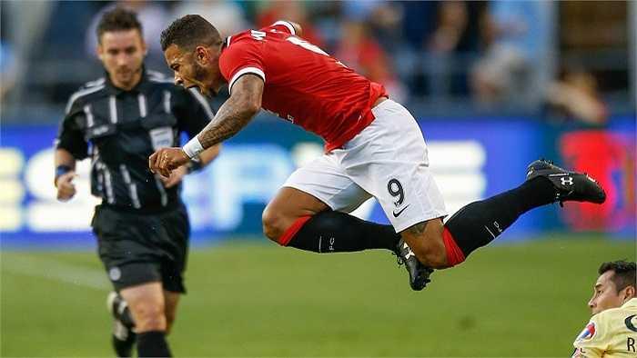 Hiệp 1 là hiệp đấu mà Man Utd chơi tạm ổn và giữ được thế trận cân bằng