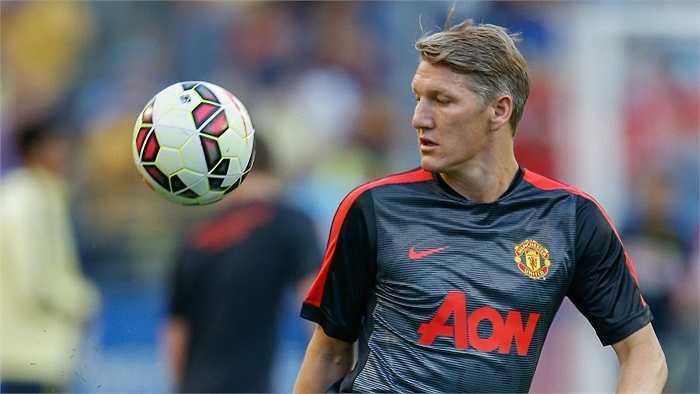Bastian Schweinsteiger là cái tên sáng giá nhất gia nhập Man United mùa hè này. Anh chỉ ra sân trong 45 phút hiệp 2