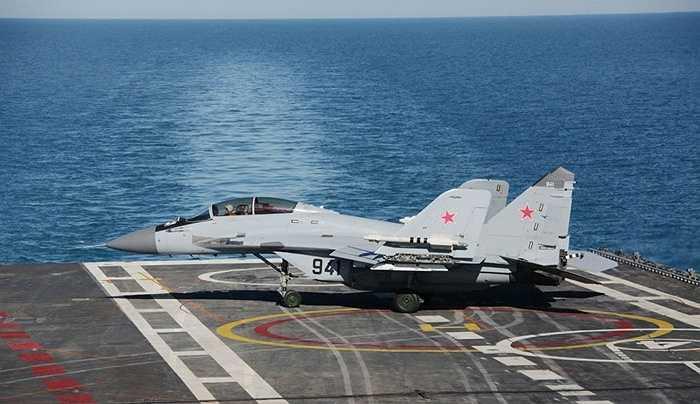 MiG-29KUB, chiến cơ đa chức năng phiên bản tàu sân bay của Nga