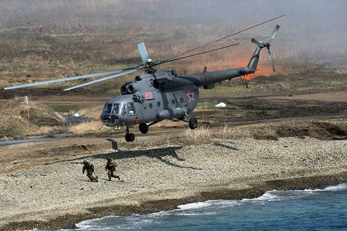 Trực thăng vận tải đổ bộ Mil Mi-8