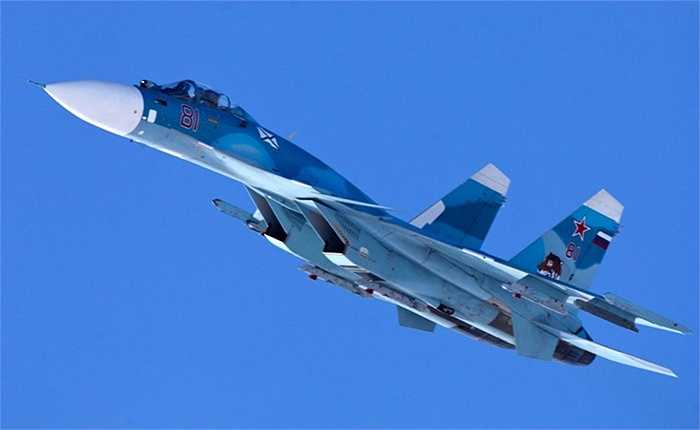 Chiến cơ Sukhoi Su-33 phiên bản dành cho tàu sân bay