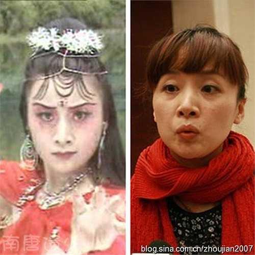 Hồng nhện tinh hay Đại nhện tinh do nữ diễn viên Diêu Gia thể hiện. Hiện tại cô là người sản xuất các chương trình truyền hình của Đài truyền hình Hồ Nam.