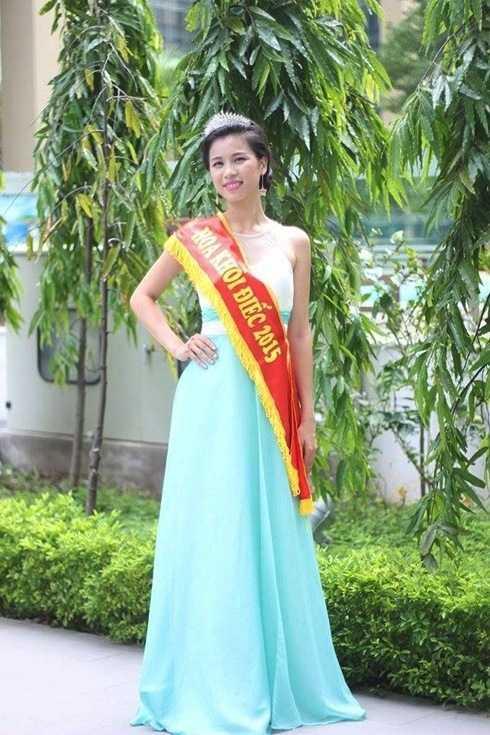 Thúy Đoan từng là á hậu cuộc thi Hoa khôi điếc tại Việt Nam.