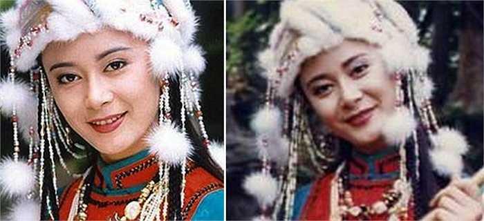 Trong phần một, cô thủ vai công chúa Trại Á tinh nghịch, ngang ngạnh như Tiểu Yến Tử.  (Nguồn: Vnexpress)