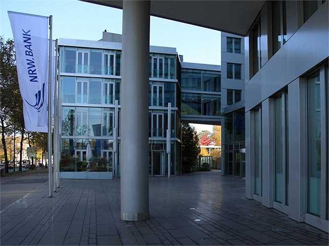 7. Ngân hàng NRW.BANK  Quốc gia: Đức  Tài sản: 197.425.000 USD  Điểm tín nhiệm Fitch: AAA / Moody: Aa1 / S & P: AA-