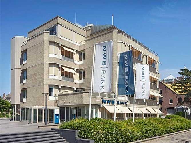 6. Ngân hàng Nederlandse Waterschapsbank  Quốc gia: Hà Lan  Tài sản: 100.500.000 USD  Điểm tín nhiệm Moody: Aaa / S & P: AA +