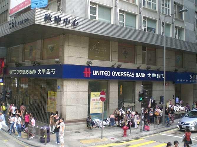 14. Ngân hàng United Overseas Bank  Quốc gia: Singapore  Tài sản: 224.634.000 USD  Điểm tín nhiệm Fitch: AA- / Moody's: Aa1 / S&P: AA-