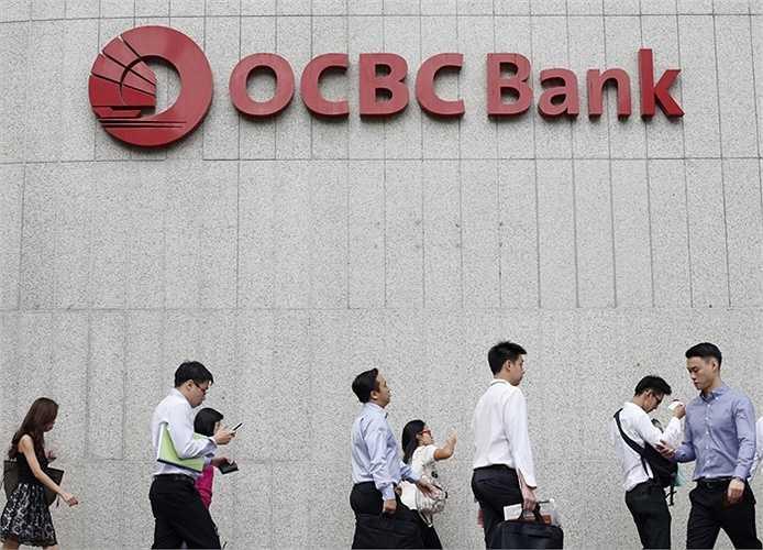 13. Ngân hàng Oversea-Chinese Banking Corp (OCBC Bank)  Quốc gia: Singapore  Tài sản: 267.485.000 USD  Điểm tín nhiệm Fitch: AA- / Moody's: Aa1 / S&P: AA-