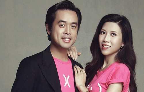 Nhạc sĩ Dương Khắc Linh và ca sĩ Trang Pháp.