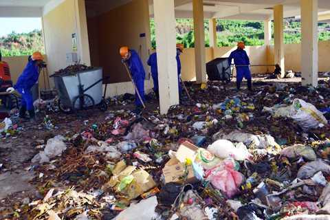 Lý Sơn, rác thải, trạm xử lý, ô nhiễm, tiền tỷ, bỉ hoang phí