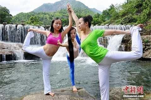 Các động tác khó của yoga