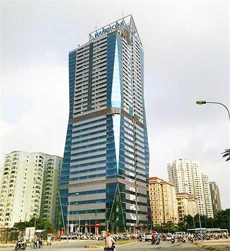 Tòa nhà Diamond Flower Tower của Công ty CP Đầu tư và phát triển nhà số 6 Hà Nội (Handico6) nằm trong danh sách nợ thuế đất lên đến hơn 110 tỷ đồng.